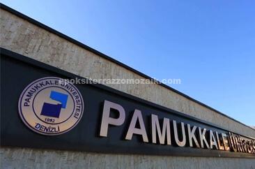 Pamukkale Üniversitesi - Dış Zemin Terrazzo Zemin Kaplama
