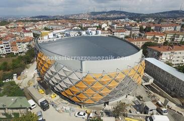 Vakıfbank Spor Kompleksi Üsküdar - Epoksi Terrazzo Kaplama